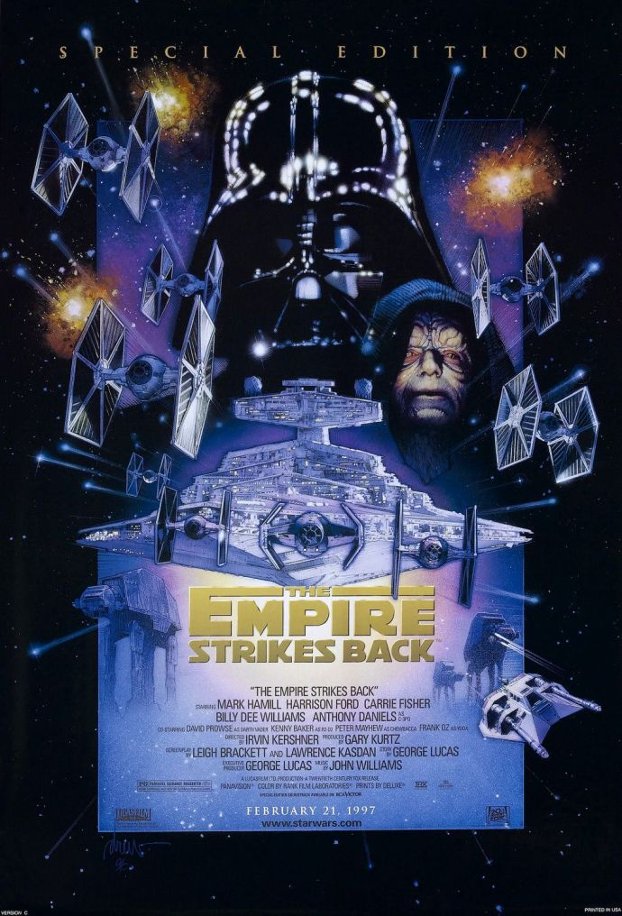 Star Wars - Episode V: The Empire Strikes Back (Special Edition poster)