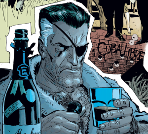 Drunk Nick Fury