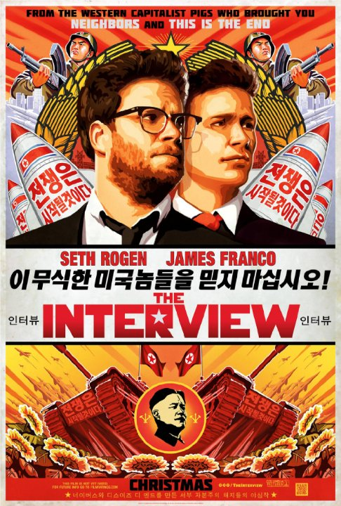 """The Interview"" (2014) - Seth Rogan / James Franco"