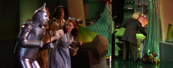 The Wizard of Oz - The Man Behind the Curtain