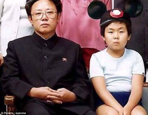 Kim Jong-Il and son