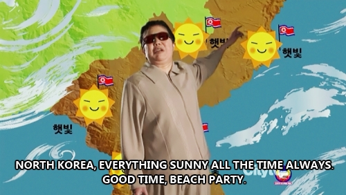Kim Jong-Il - weather report: