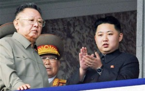 Kim Jong-Il and Un