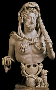 Commodus - Hercules statue