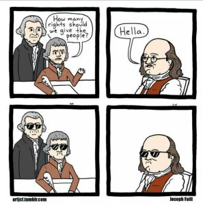 Founding Fathers Swag