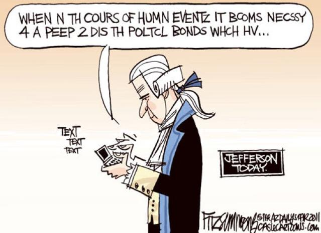 Jefferson texting